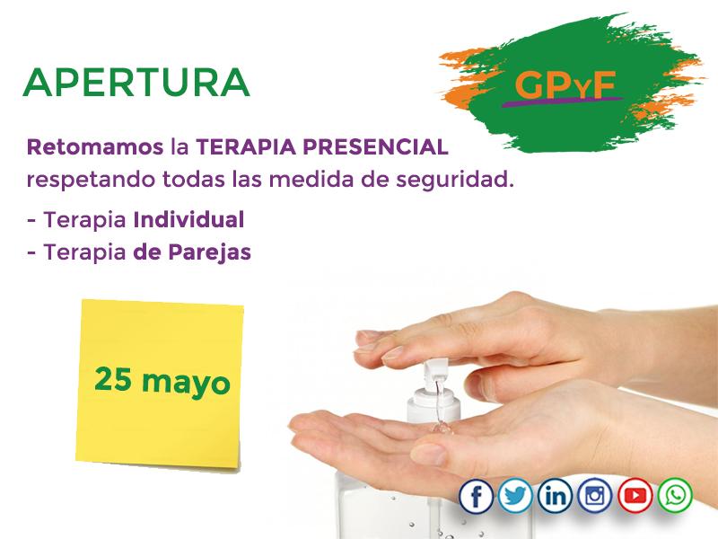 Apertura 25 mayo
